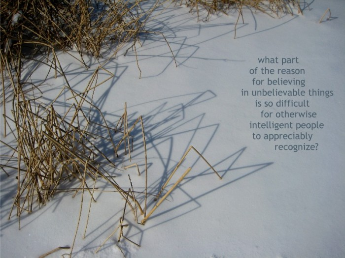 Words on Images - Believing