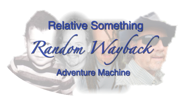 Random Wayback Machine